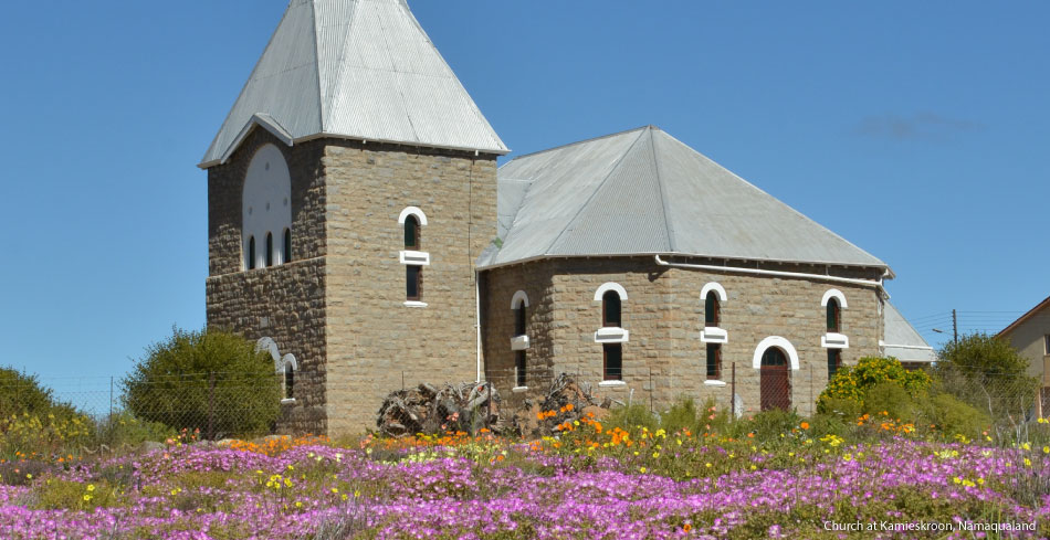 Church-at-Kamieskroon,-Namaqualand